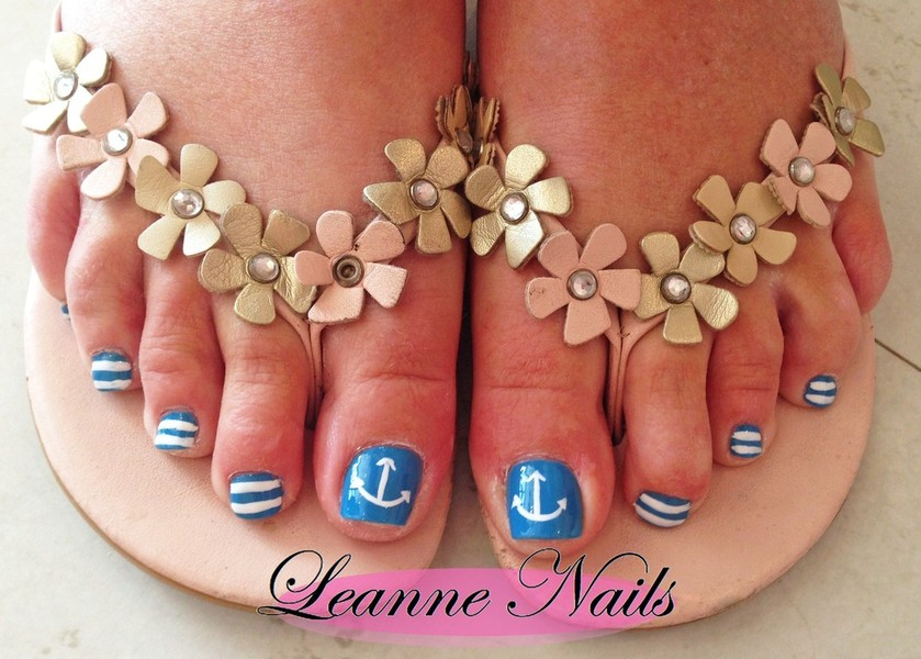 ... toenail designs and extensions: All ... - Leanne Nails - Toenail Designs